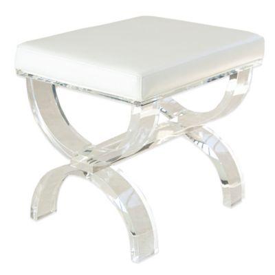 Taymor® Urban Modern Acrylic Vanity Bench  sc 1 st  Bed Bath u0026 Beyond & Buy Vanity Bench from Bed Bath u0026 Beyond islam-shia.org