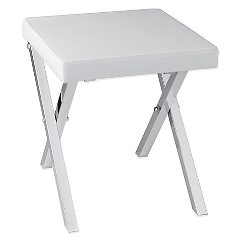 Taymor 174 Folding Vanity Stool Bed Bath Amp Beyond