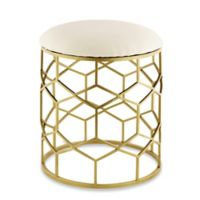 Taymor® Reign Vanity Stool in Gold