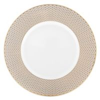 Waterford® Lismore Diamond Gold Accent Plate