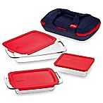 Pyrex® Portables 8-Piece Bakeware Set