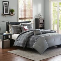 Intelligent Design Daryl 4-Piece Twin/Twin XL Comforter Set in Grey