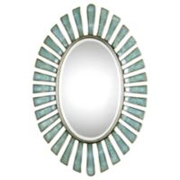 Uttermost Morvoren 27-Inch x 39-3/4-Inch Oval Wall Mirror