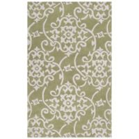 Surya Swabia 2-Foot x 3-Foot Area Rug in Grey