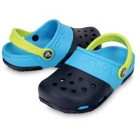 Crocs™ Size 4 Kids' Electro II Clog in Navy/Electric Blue