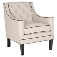 Safavieh Sherman Arm Chair in Black