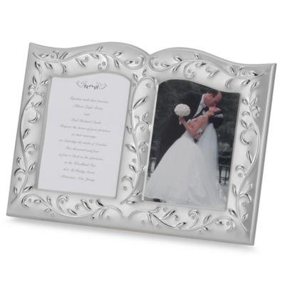 lenox opal innocence invitation frame - Bed Bath And Beyond Wedding Invitations
