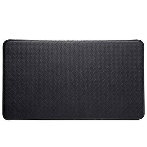 Imprint 174 Nantucket Anti Fatigue Comfort Mat In Black Bed