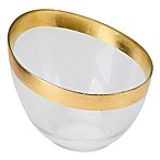 Classic Touch Candy Dish with Gold Border