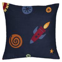 Sweet Jojo Designs Space Galaxy Throw Pillow