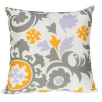 Glenna Jean Fiona Suzani Square Throw Pillow