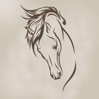 Glenna Jean Happy Trails Stallion Wall Decal