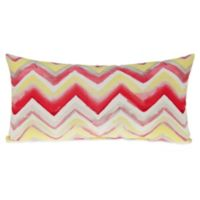 Glenna Jean Harper Rectangular Chevron Throw Pillow