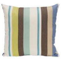 Glenna Jean Liam Striped Square Throw Pillow