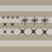 Glenna Jean Liam Star Wall Decals (set of 14)