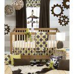 Glenna Jean 3-Piece Crib Bedding Set