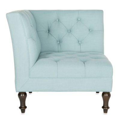 Safavieh Jack Corner Chair In Sky Blue