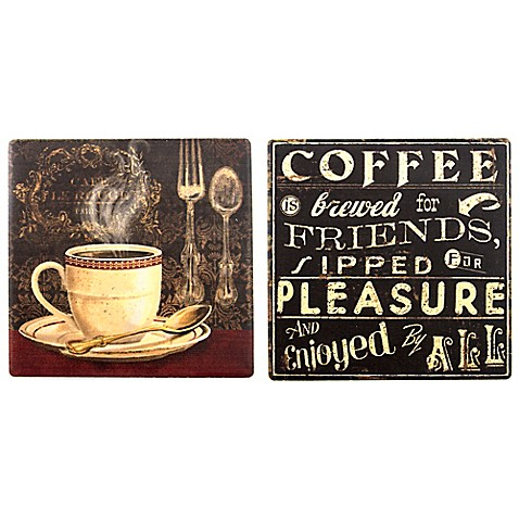thirstystone coffee coaster collection bed bath beyond. Black Bedroom Furniture Sets. Home Design Ideas
