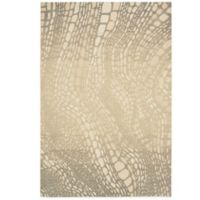 Kathy Ireland® Home Palisades Lava Flow 3-Foot 9-Inch x 5-Foot 9-inch Area Rug in Light Olive