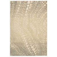 Kathy Ireland® Home Palisades Lava Flow 8-Foot x 10-Foot 6-Inch Area Rug in Light Olive
