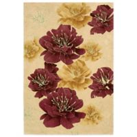 Kathy Ireland® Home Palisades Joshua Blossom 5-Foot x 7-Foot 6-Inch Area Rug in Sand