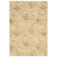 Kathy Ireland® Home Palisades 5-Foot by 7-Foot 6-Inch Area Rug in Bisque