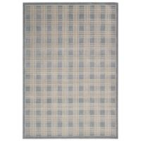 Kathy Ireland® Home Hollywood Shimmer 5-Foot 3-Inch x 7-Foot 5-Inch Area Rug in Blue