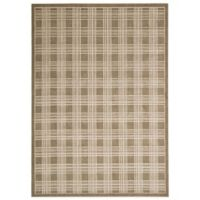 Kathy Ireland® Home Hollywood Shimmer 5-Foot 3-Inch x 7-Foot 5-Inch Area Rug in Mocha