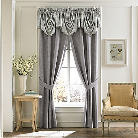 Croscill 174 Alita Window Curtain Panel And Valance In Spa