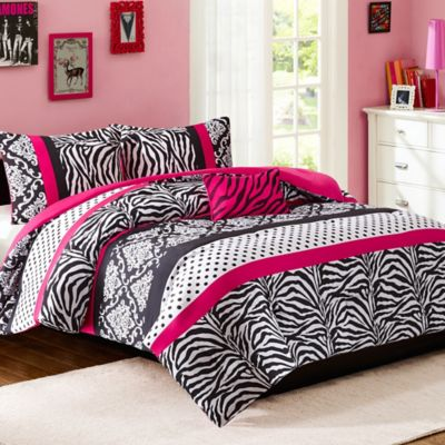 Buy Pink and Black Bedding Sets from Bed Bath & Beyond