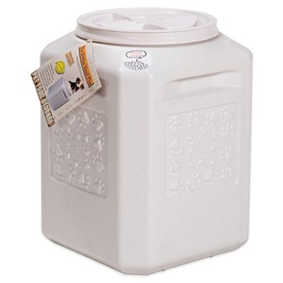 vittles vault plus 35 lb pet food container