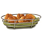 Spectrum™ Euro Bread Basket in Satin Nickel