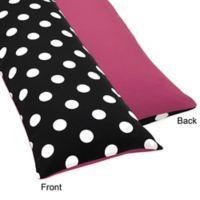Sweet Jojo Designs Hot Dot Maternity Body Pillow Case