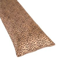 Sweet Jojo Designs Cheetah Girl Maternity Body Pillow Case in Chocolate/Camel
