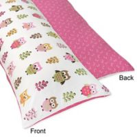 Sweet Jojo Designs Happy Owl Maternity Body Pillow Case
