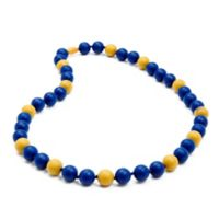 Chewbeads MLB Milwaukee Brewers Gameday Teething Necklace
