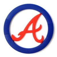Chewbeads MLB Atlanta Braves Gameday Teether