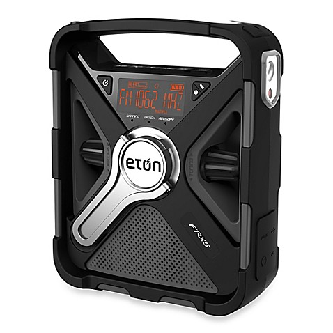 eton frx5 bt hand crank emergency radio bed bath beyond. Black Bedroom Furniture Sets. Home Design Ideas