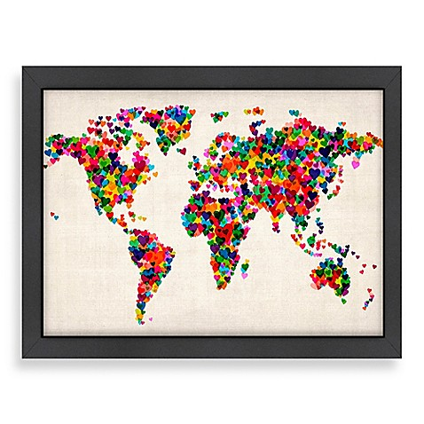 Bed Bath And Beyond World Map Wall Decor