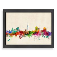 Americanflat Art Pause Auckland Colored Skyline Wall Art