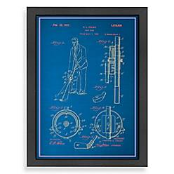 Americanflat adjustable golf club blueprint wall art bed bath beyond product image for americanflat adjustable golf club blueprint wall art malvernweather Image collections