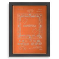 Americanflat Darrow Monopoly Blueprint Wall Art