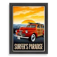 "Americanflat Matthew Schnepf ""Surfer's Paradise"" Digital Print Wall Art"