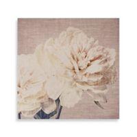 Cream Petals Canvas Wall Art