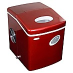 NewAir 28 lb. Portable Ice Maker in Red