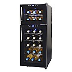NewAir® 21-Bottle Dual-Zone Wine Cooler