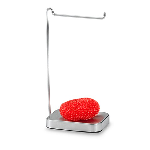 Umbra 174 Chariot Dish Towel Stand And Scrubby Holder Bed