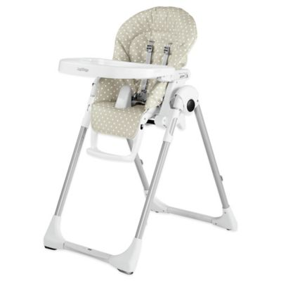 Peg Perego Prima Pappa Zero 3 High Chair in Baby Dot Beige  sc 1 st  Bed Bath u0026 Beyond : used peg perego high chair - Cheerinfomania.Com