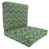 45-Inch x 25-Inch 2-Piece Deep Seat Chair Cushion in Sunbrella® Fischer Lagoon