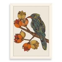 Americanflat Valentina Ramos Bravebird Digital Print Wall Art with White Frame